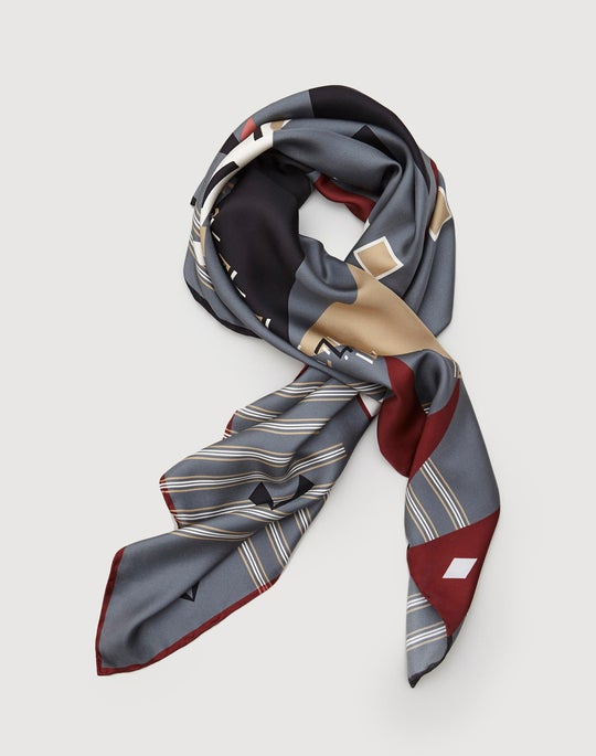 Bauhaus Veritas Silk Twill Scarf