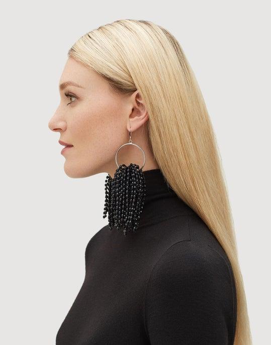 Falling Beads Earring
