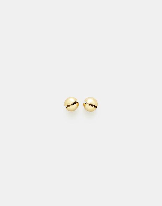 Sphere Clip Earring