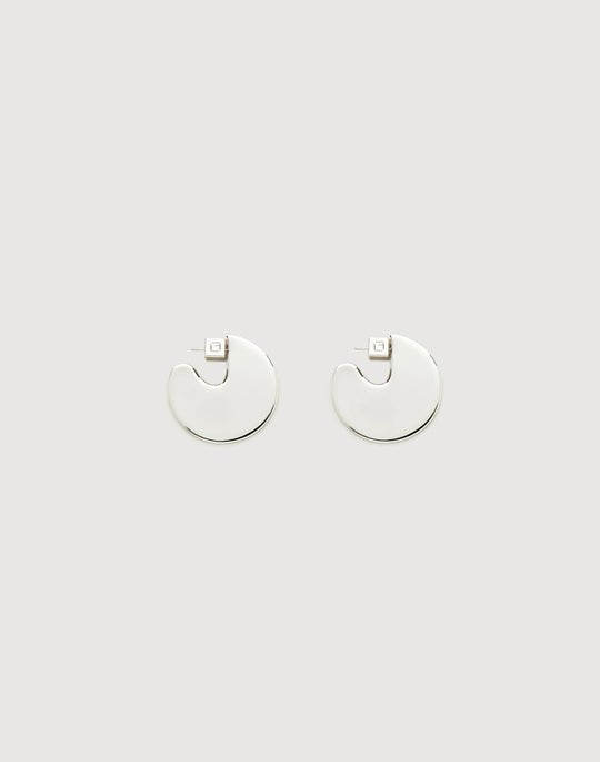 Medium Semi-Circle Drop Earring