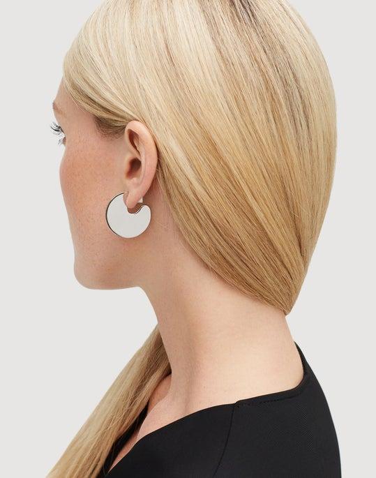 Medium Semi-Circle Drop Earring