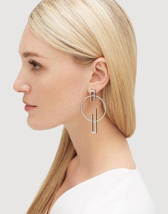 Deco Gypsy Hoop Earring