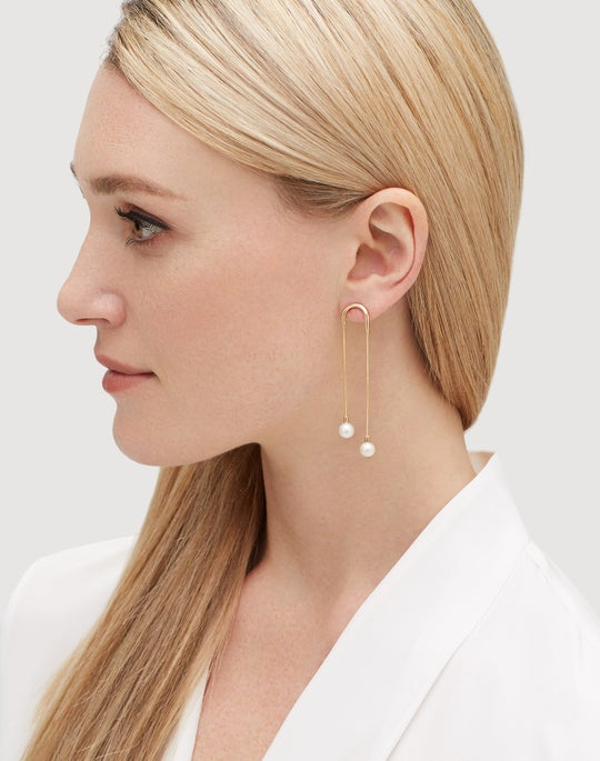 Freshwater Pearl Waterfall Earrings