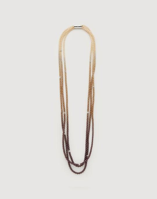 Ombré Beaded Necklace