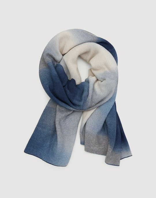 Space Dyed Oblong Shawl