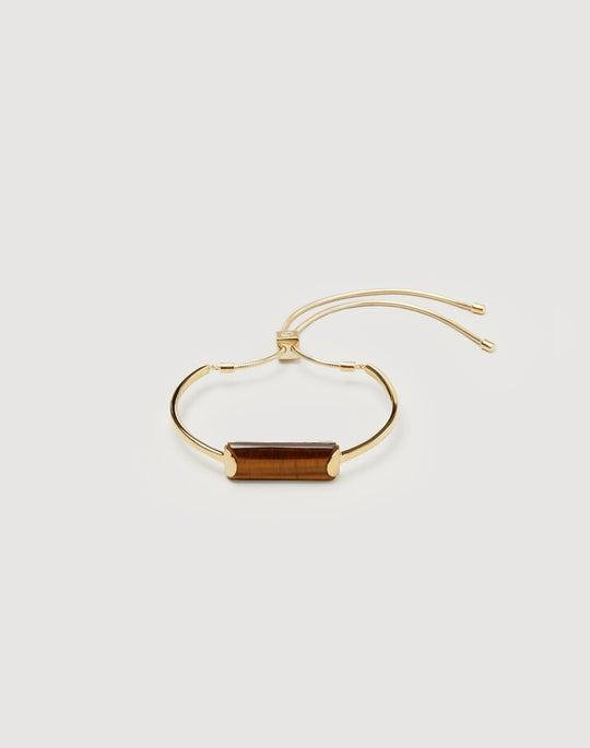 Rectangular Stone Bracelet