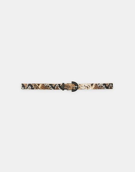 Animal Print Belt
