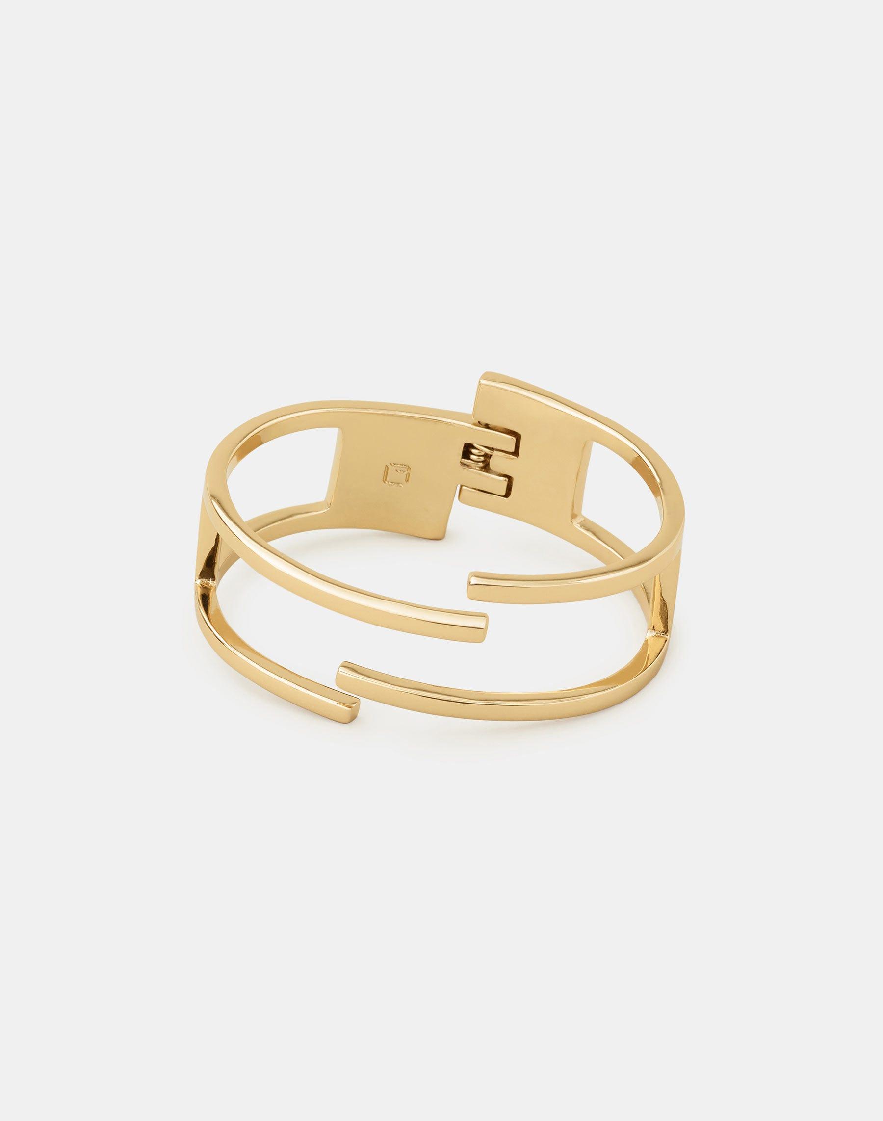 Lafayette 148 Interlinking Cuff Bracelet In Gold