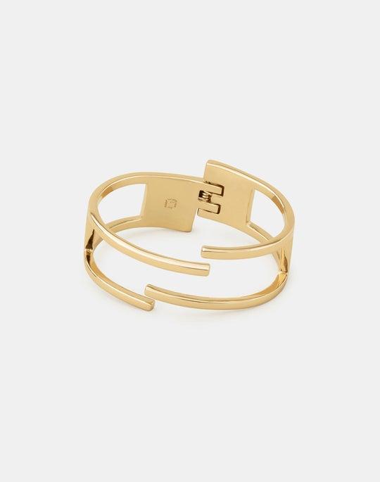 Interlinking Cuff Bracelet