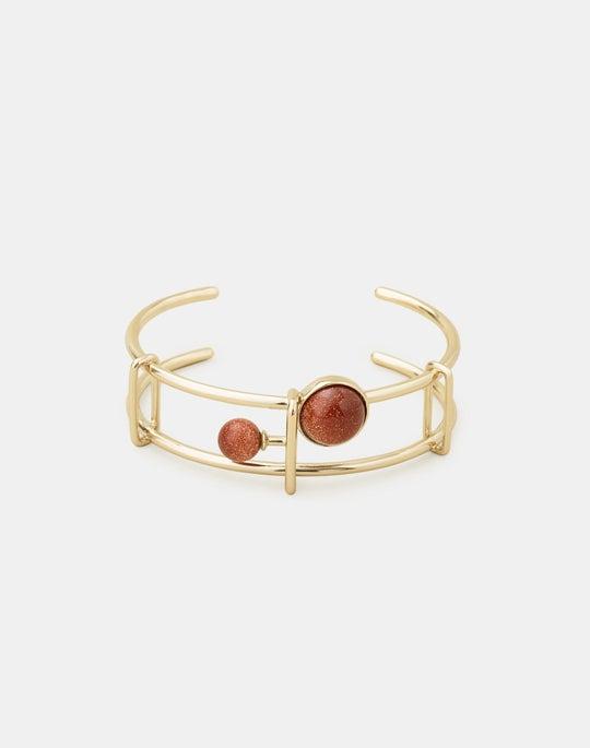 Graphic Cuff Bracelet