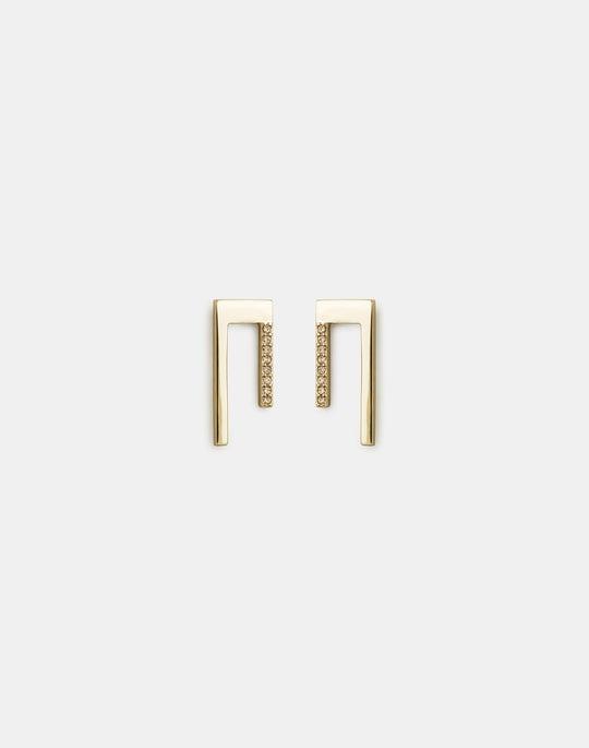 Short Linear Earrings