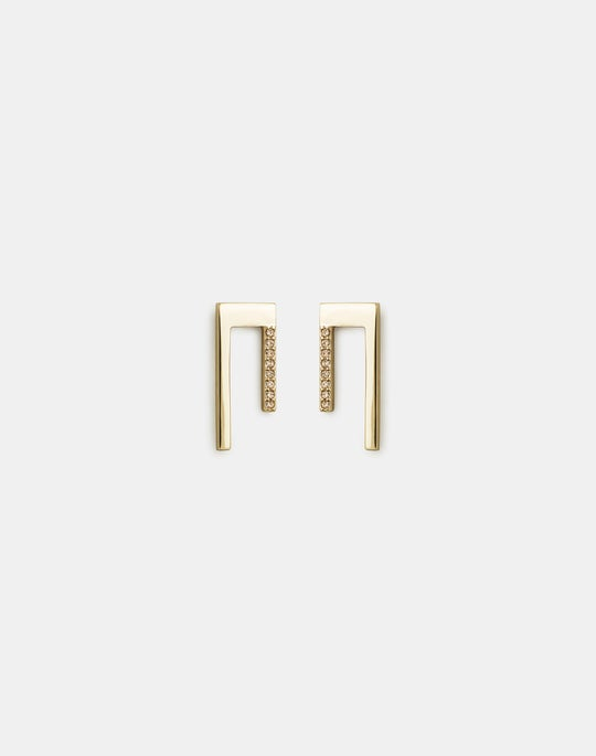 Short Linear Earrings