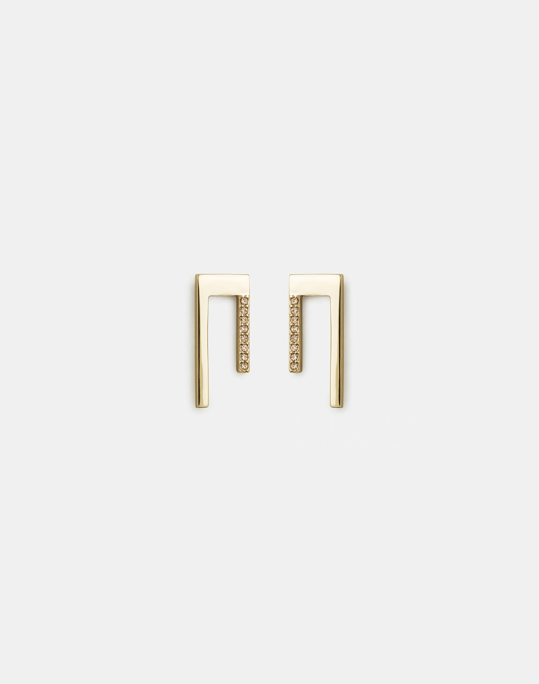 Lafayette 148 Short Linear Earrings In Gold