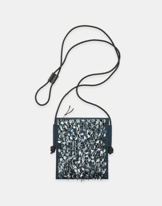 Hand-Beaded Crossbody Bag