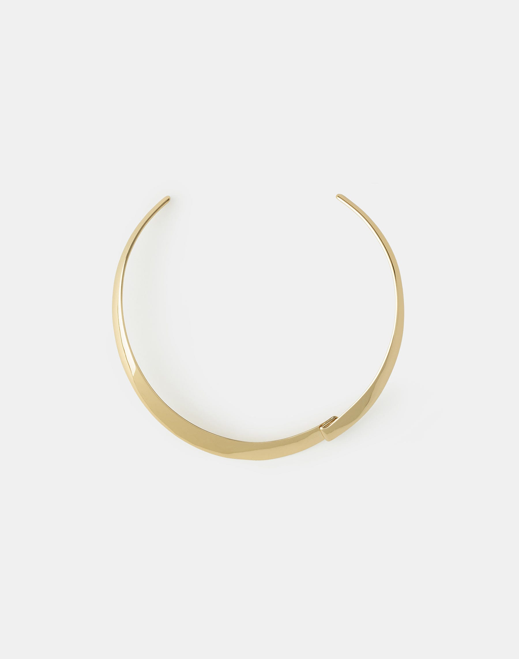 Lafayette 148 Ribbon Collar Necklace In Gold