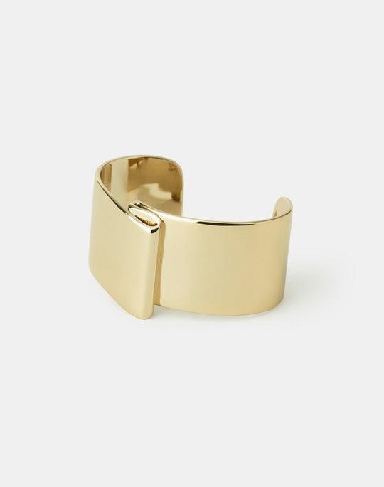 Open Ribbon Cuff Bracelet