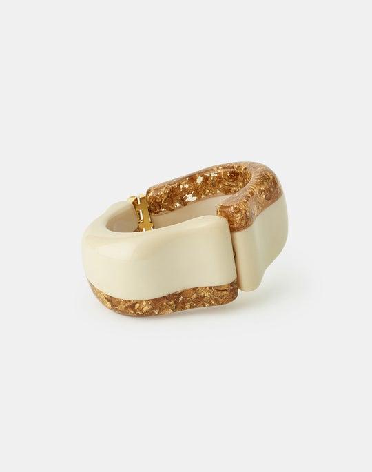 Gold Foil Bracelet
