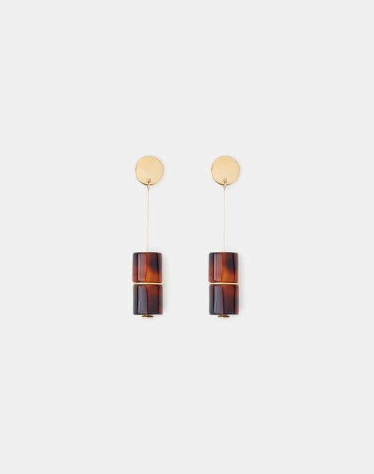 Resin Drop Earring