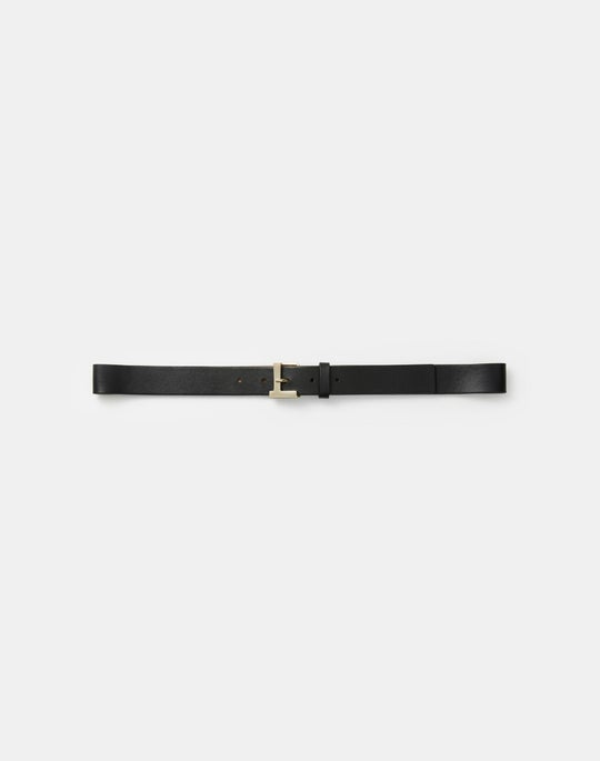 Italian Leather Icon Belt