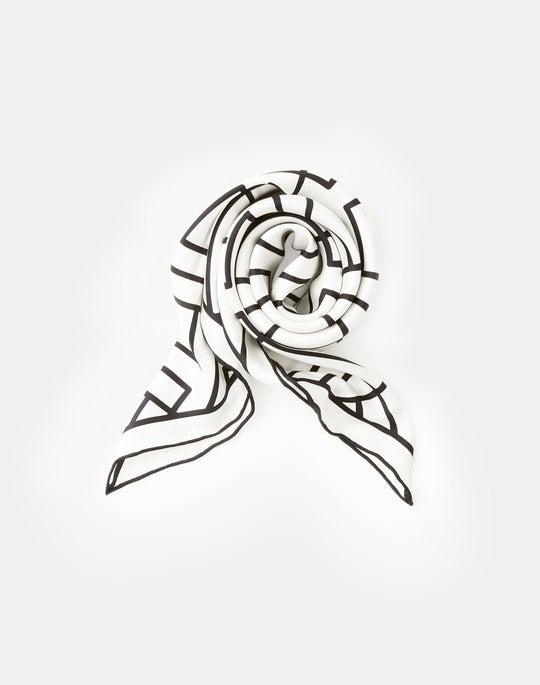 Icon Fog Silk Twill Scarf