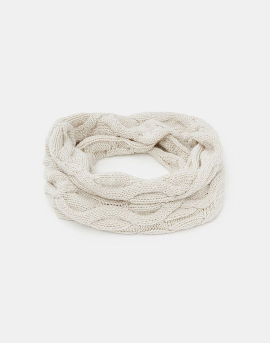 Cashmere Infinity 8 Cable Snood