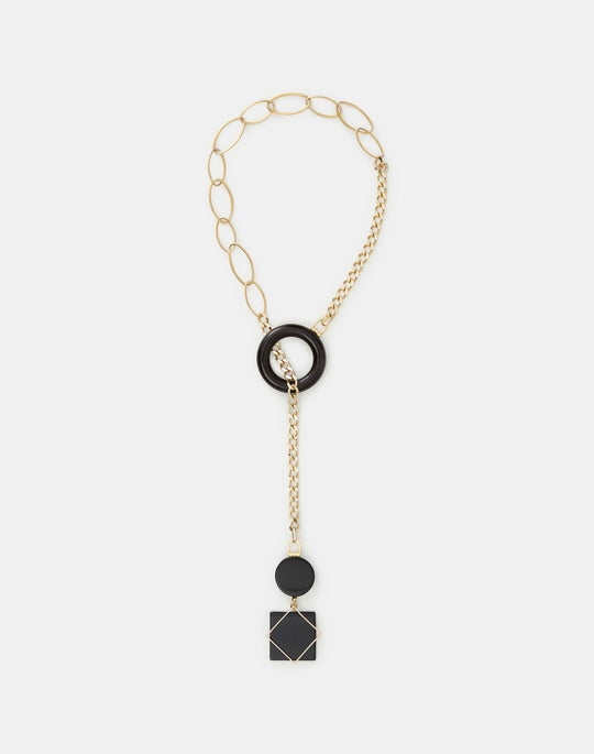 Italian Sculptural Charm Necklace