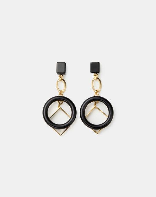 Italian Sculptural Charm Earrings