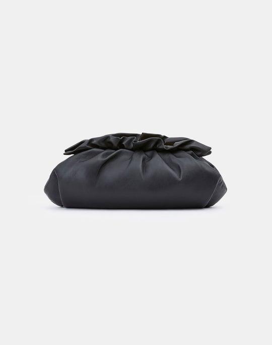 Italian Nappa Leather Pochette Clutch