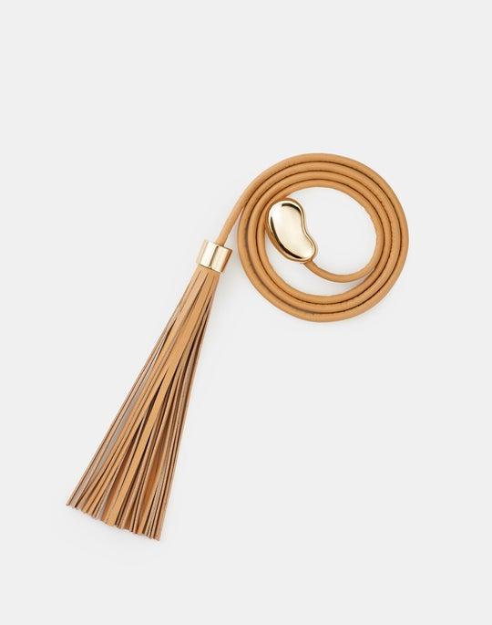 Irregular Leather Rope Belt