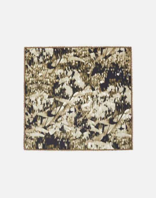 Daydream Print Italian Cashmere-Silk Scarf