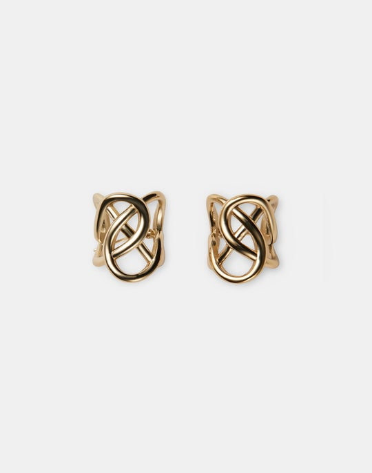 8 Knot Hoop Earrings