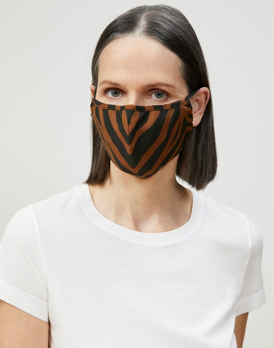 Zevron Print Coastal Cloth Mask