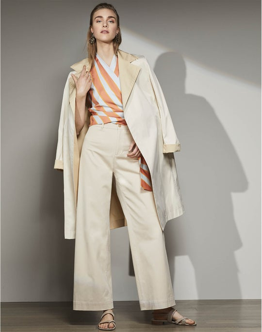 Rosemont Trench and Clark Cropped Pant