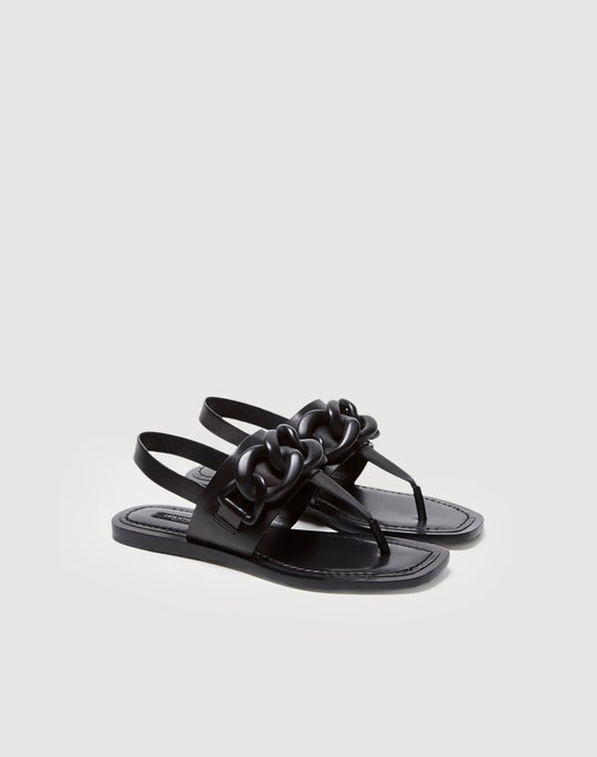 Leather Vallerie Sandal