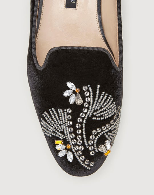 Embellished Siena Slipper