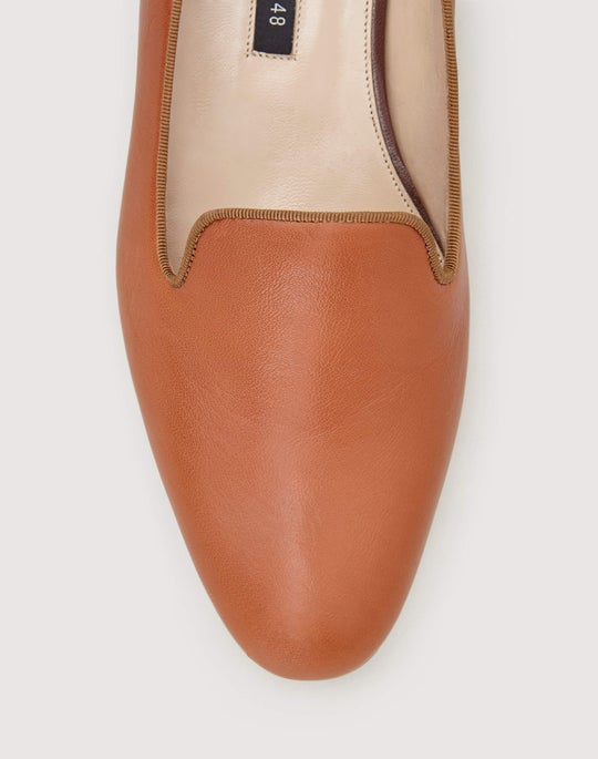 Leather Siena Slipper