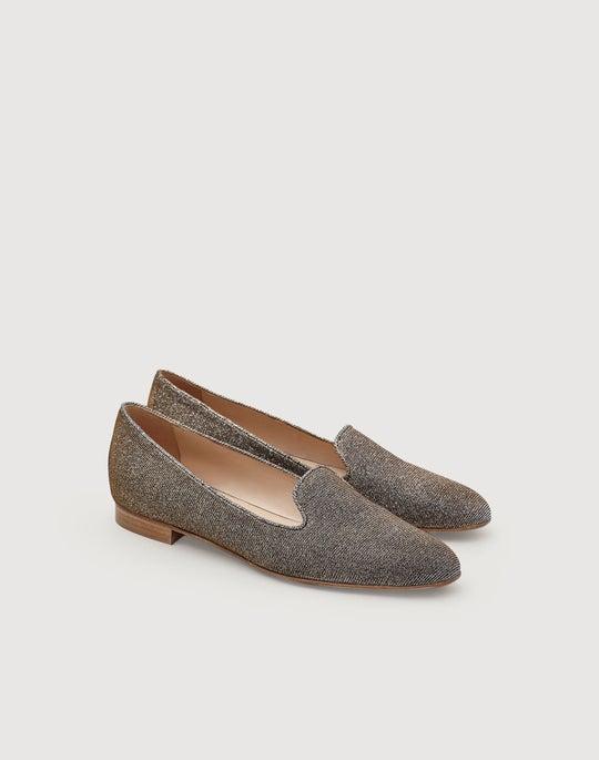 Lustrous Leather Siena Slipper