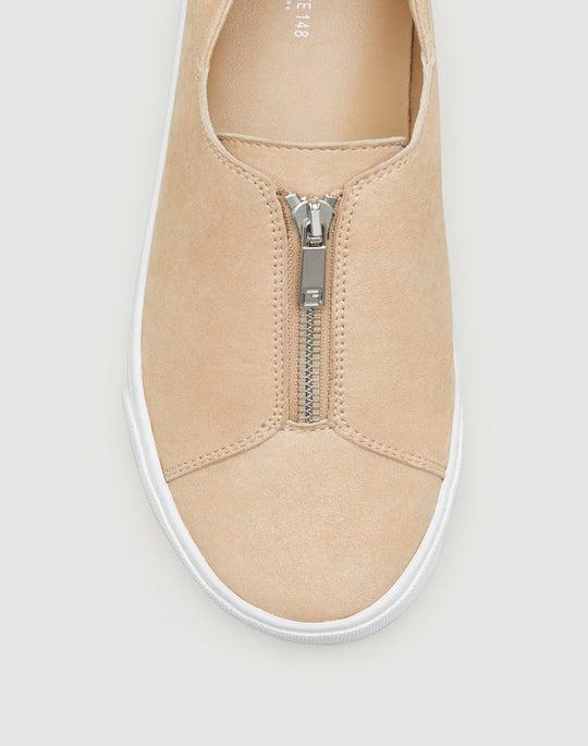 Metallic Step-In Bade Sneaker