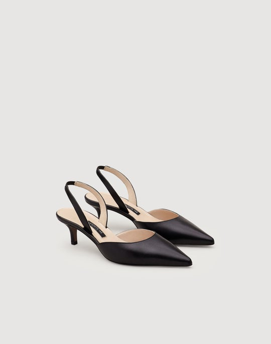 Libbet Leather Slingback