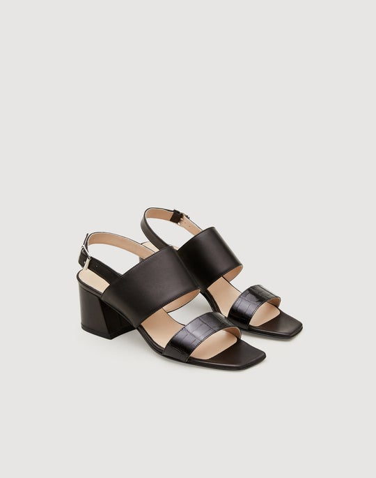 Alligator Band High City Sandal