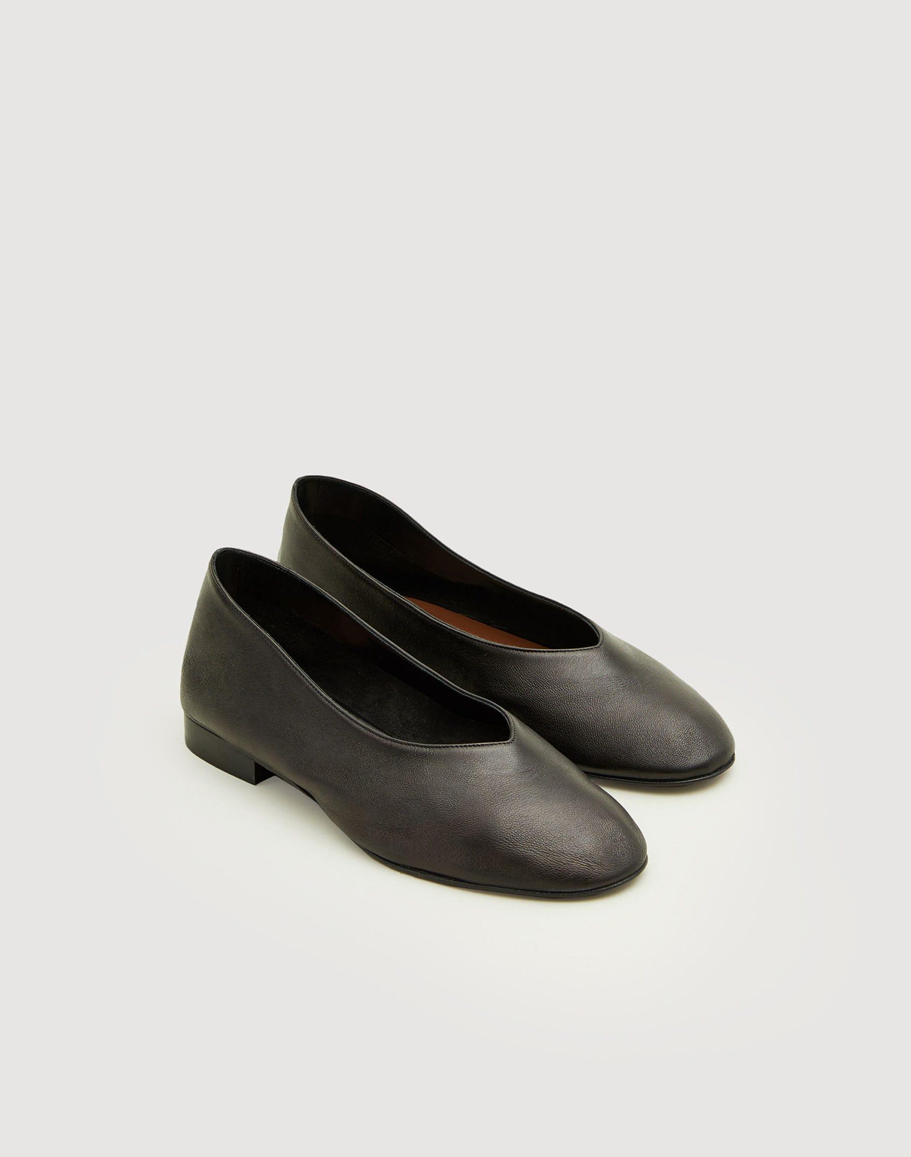 Lafayette 148 Jemma Ballet Flat In Black