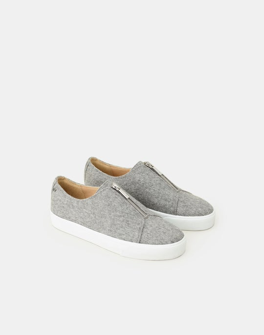Wool-Cashmere Bade Sneaker