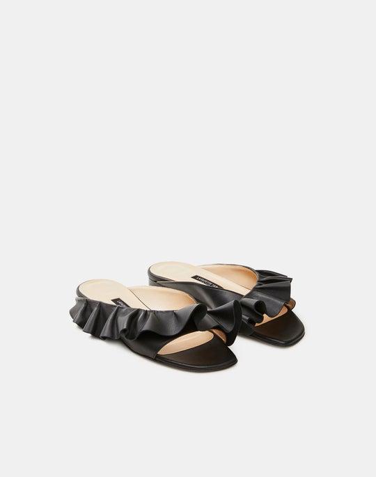 Nappa Leather Avola Flat