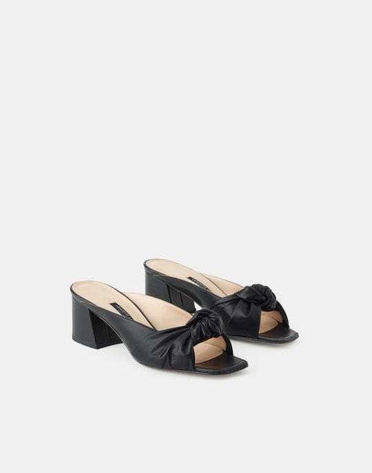 Leather Mila Slide