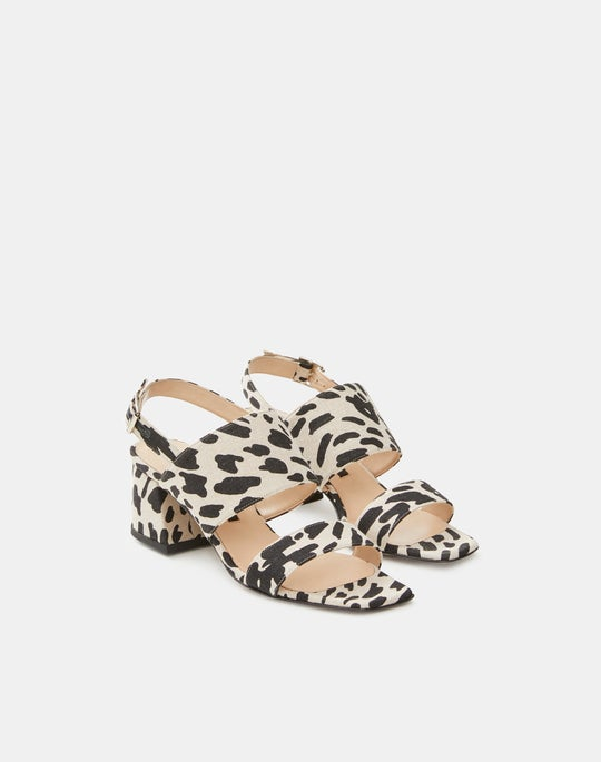 Cheetah Print High City Sandal