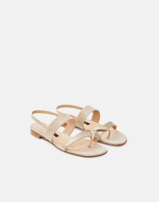 Linen Selene Sandal