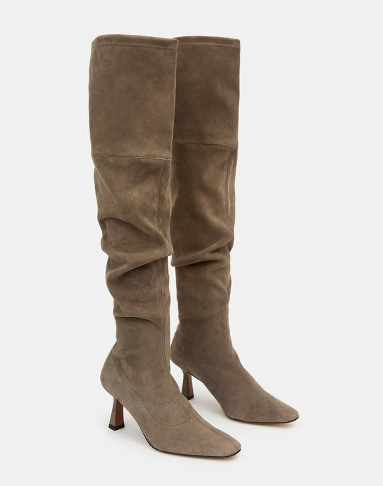 Suede Pia Tall Boot