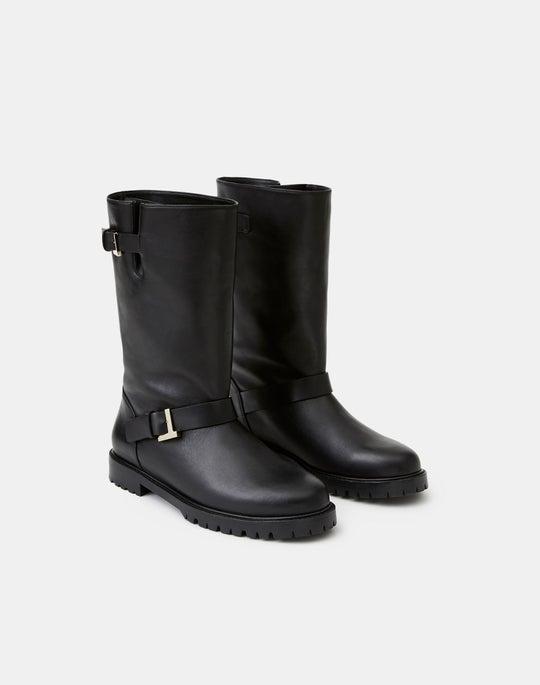 Leather Jordan Icon Boot