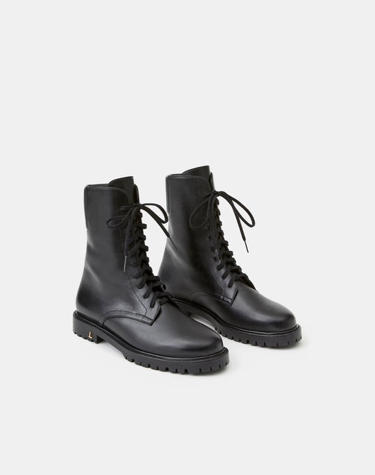 Leather Finley Combat Boot