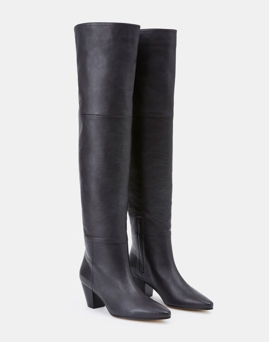 Nappa Leather Lucille Tall Icon Boot